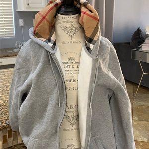 Burberry sweater jacket